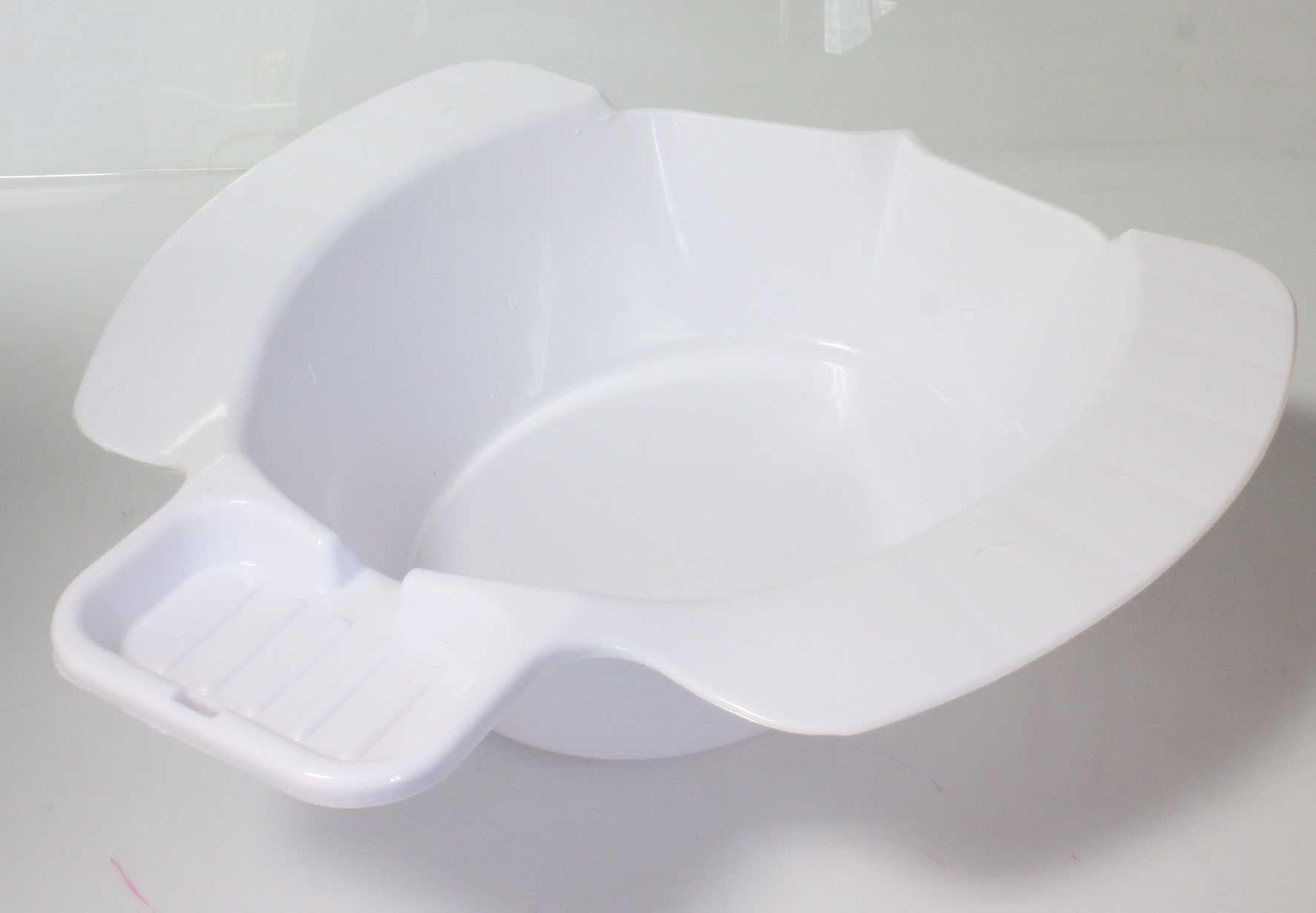 Bidet Plastique Blanc 2256 Materiel Medical Articles