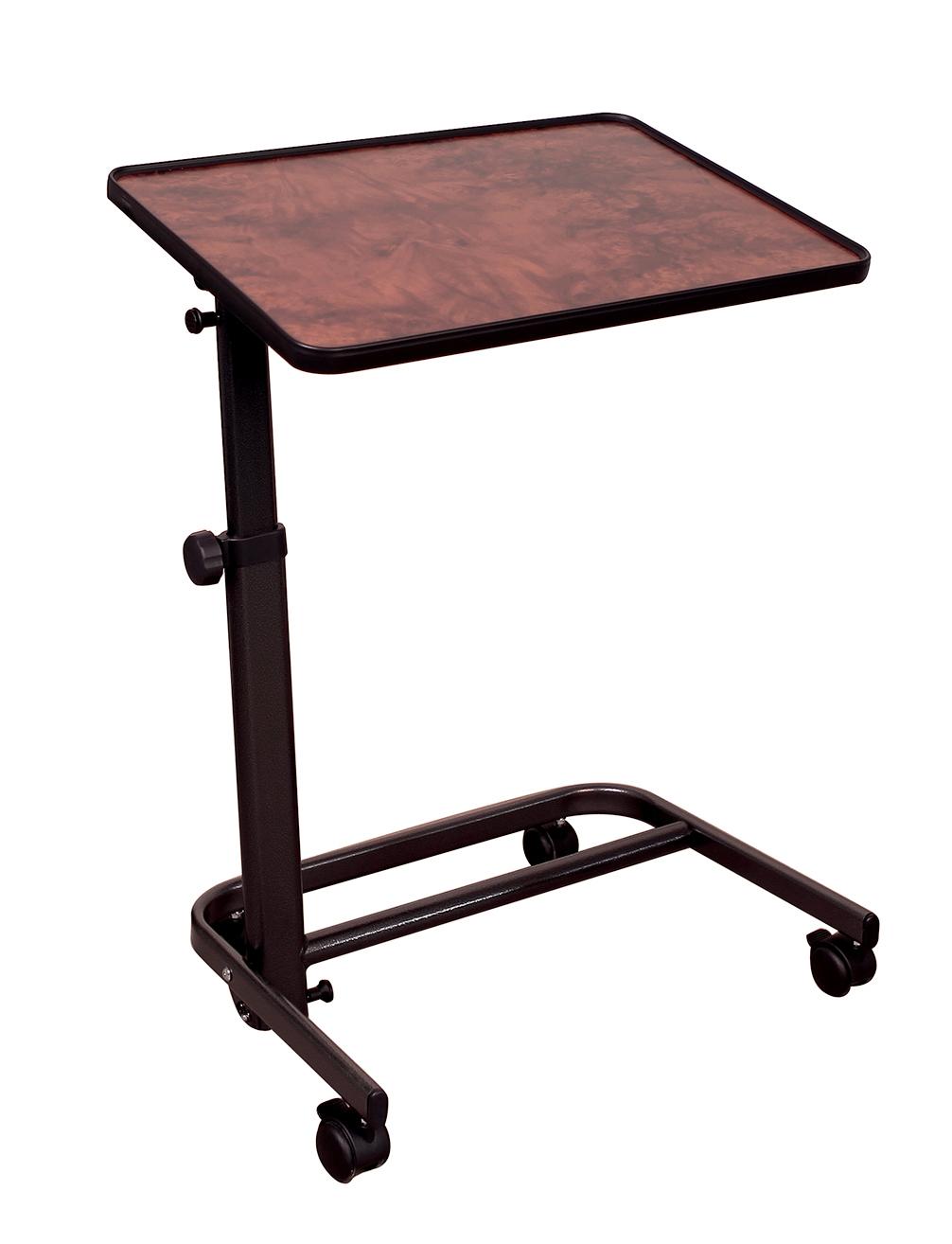 table de lit herdegen 60x40 dcor ronce de noyer - Table De Lit