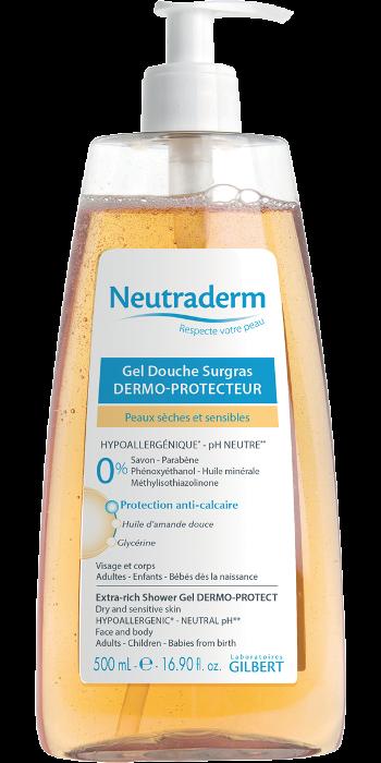 Gel douche surgras neutrapharm flacon pompe de 500 ml neutraderm 4696 mat riel m dical - Neutrapharm gel douche surgras ...